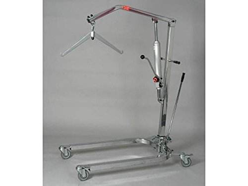 Patient Lift 350 lb capacity hydrolic and adjustable