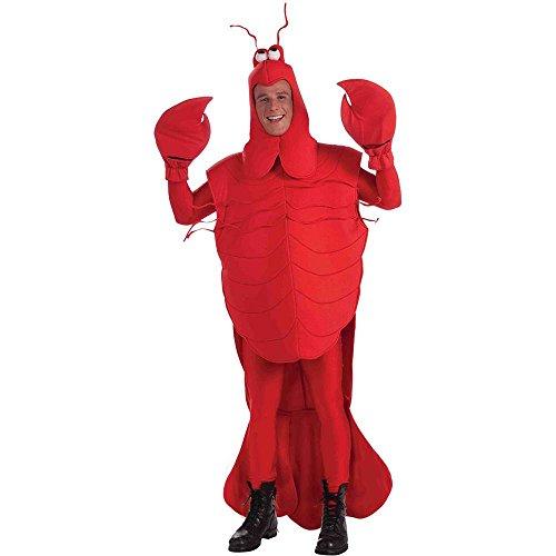 [Craw Daddy Crawfish Adult Costume] (Crawfish Costumes)