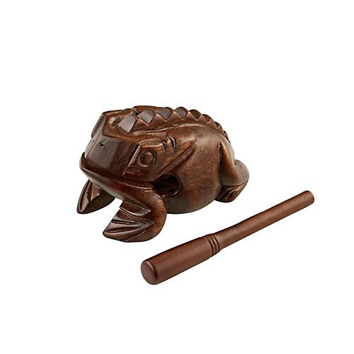 Wood Frog Hand Percussion Instrument Pack of 2