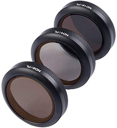 Gerald Lens ND Filters 3-Pack (ND4/PL,ND8/PL, ND16/PL) for DJI Mavic 2 Zoom Latest Release Accessories by Gerald DuVallSDF