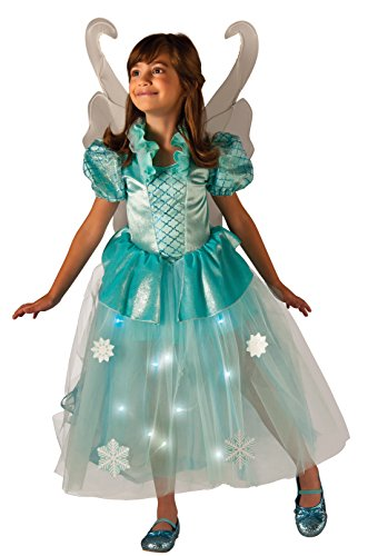 Rubie's Costume Kids Winter Fairy Lite up Costume, (Winter Fairy Costumes)