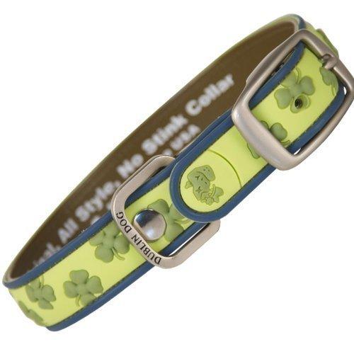 Dublin Dog Gaelic Grunge Waterproof Collar, Medium