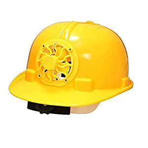 Solar Safety Helmet Hard Hat Cap With Cooling Cool Fan
