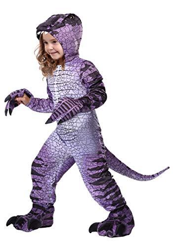 (Kids Ravenous Raptor Dinosaur Costume Large)