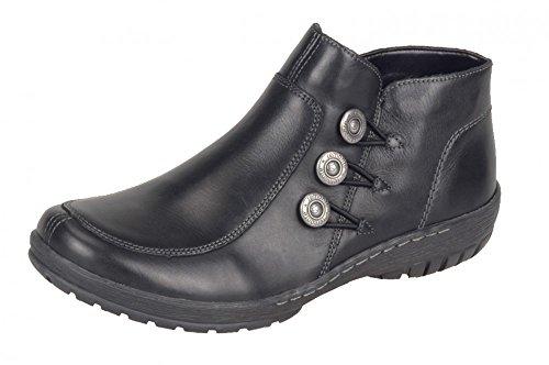 Remonte zapato de las señoras R6877-02 negro schwarz