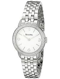 Bulova Women's 96R181 Analog Display Quartz Silver Watch