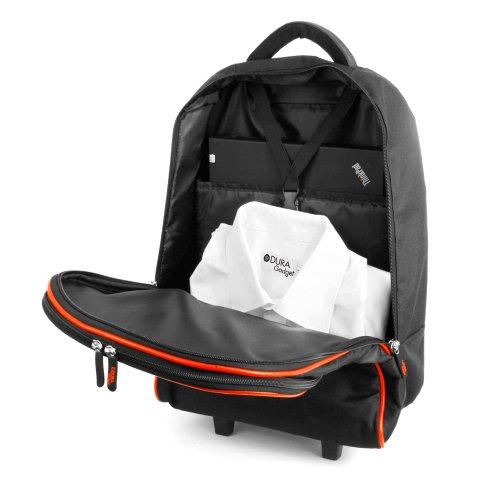 DURAGADGET Lightweight Laptop Trolley Bag With Heavy Duty Telescopic Handle for Lenovo HP Compaq Presario Models