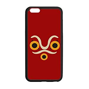 Princess Mononoke Design Solid Rubber Customized Cover Case for iPhone 6 plus 5.5