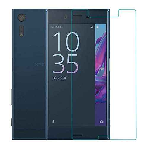 for Sony Xperia XZ1 Glass Screen Protector - [2 Pack] for Sony...