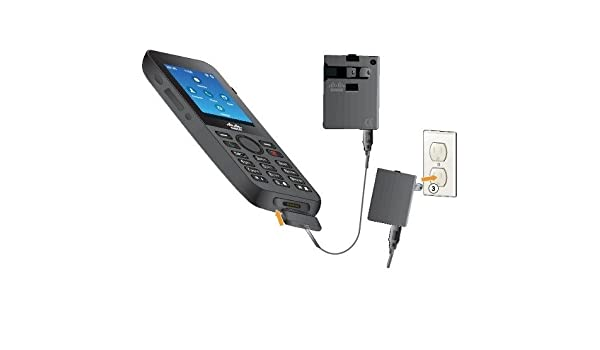 4L7883 PN CP-8821-K9 2.4 Black Cisco Unified Wireless IP Phone 8821 Cordless Extension Handset Bluetooth Interface