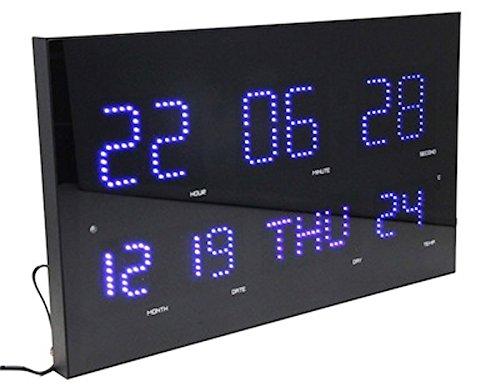 Digital Display Format Calendar Thermometer