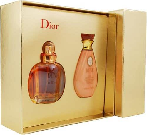 Dune By Christian Dior For Women. Set-edt Spray 1-Ounce & Body Lotion 1.7-Ounce