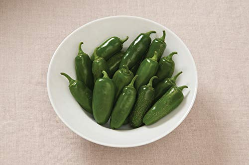 David's Garden Seeds Pepper Jalapeno Early SL5866 (Red) 50 Non-GMO, Heirloom Seeds