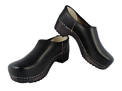 sabots chaussures sabots chaussures Kapp Kapp noir noir Kapp chaussures twUqOZZT