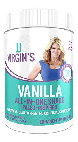 Jj Virgin Vanilla Paleo Inspired All In One Shake  30 Servings