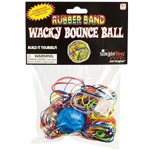 (Toysmith Rubber Band Wacky Bounce Ball)