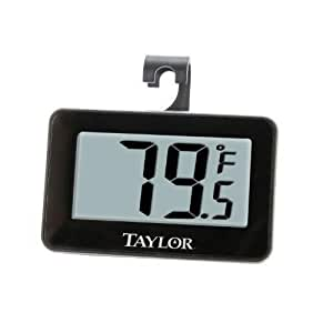 Taylor Digital Refrigerator Freezer Thermometer New