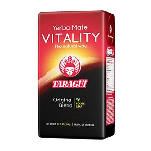 Yerba Mate Taragui Vitality Sin Palos 500 gramos: Amazon.es ...