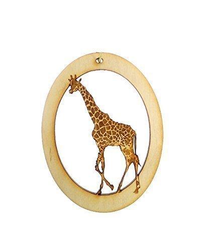 Personalized Giraffe Ornament - Giraffe Christmas Ornaments - Giraffe Gifts