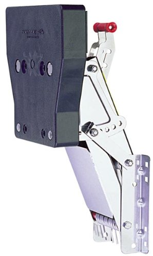 Garelick/EEz-In 71056:01 Marine Stainless Steel Auxiliary Outboard Motor Bracket FOR 2-STROKE MOTORS