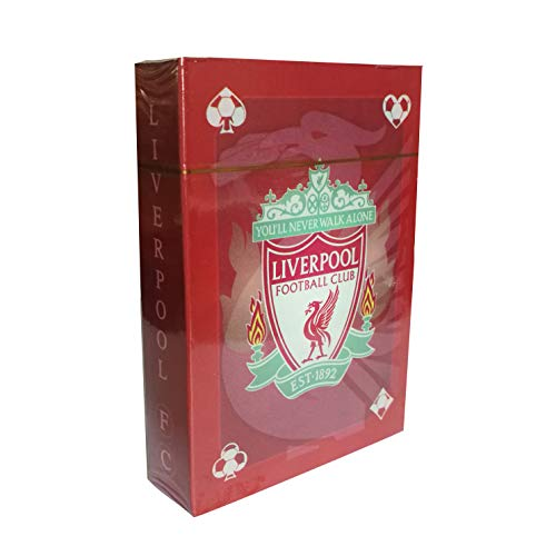 ZQfans Footable Club Soccer Team Standard Index Playing Cards for Home/Travel (Liverpool, 2.5
