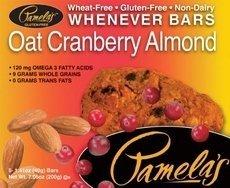 Pamelas - Pamela'S Oat Cranberry Almond Bars 5 Ct (Pack of 6)