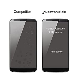 [2-Pack] Supershieldz for Google (Pixel 3) Tempered Glass Screen Protector, [Full Screen Coverage][3D Curved Glass] Anti-Scratch, Bubble Free, Lifetime Replacement Warranty (Black) by Supershieldz