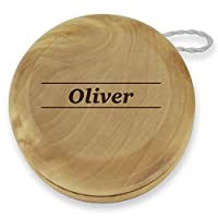 Dimension 9 Oliver Classic Wood Yoyo with Laser Engraving