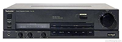 Technics Su-v78 Vintage Stereo Integrated Amplifier 100wpc Into 8 Ohms by TECHNICS