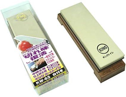 Piedra de afilar japonesa con combinación de grano 1000/6000