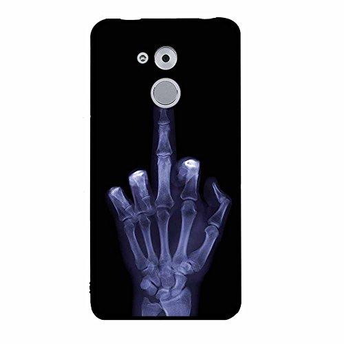 Funda Huawei Enjoy 6s/ Honor 6C, FUBAODA [Flor rosa] caja del teléfono elegancia contemporánea que la manera 3D de diseño creativo de cuerpo completo protector Diseño Mate TPU cubierta del caucho de s pic: 11