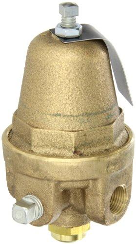 Cash Valve 8356-0019 Brass Pressure Regulator, 2 - 35 PSI Pressure Range, 3/8