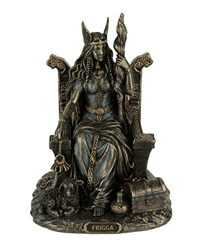 Veronese Frigga Norse Goddess of Love and Marriage Statue Sculpture Figurine