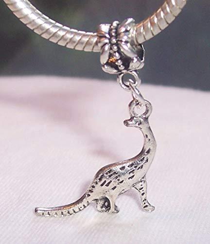 (Dinosaur Natural History Museum Toy Dangle Charm for European Slide Bracelets id-2552 )