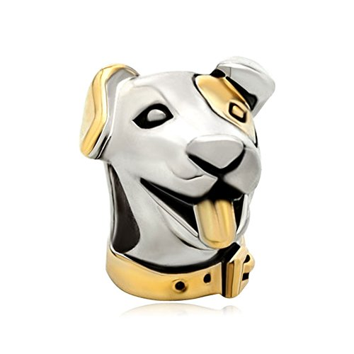 Dog Charm Gold Plated - Joshua Home Jewelry Animal Jewelry Charms Gold Plated Cute Dog Charms For Bracelets Gold Animal Charms