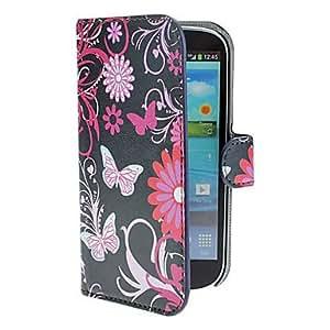 GDW Teléfono Móvil Samsung - Fundas con Soporte - Diseño Especial - para Samsung S3 I9300 ( Multi-color , Cuero PU )