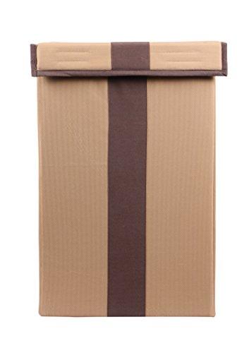 JMD Creation Foldable Laundry Bag Fabric, Beige