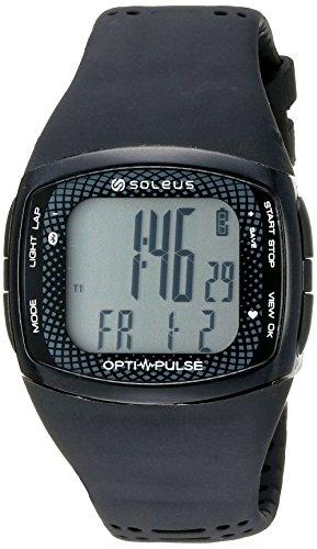 Soleus 'Soleus Pulse Rhythm BLE' Quartz Black Fitness Watch (Model: SH011-001)