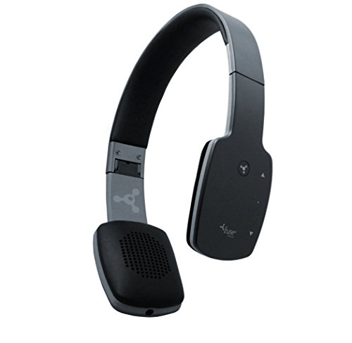 foneGear 7526 NYX Bluetooth Headphones, Black