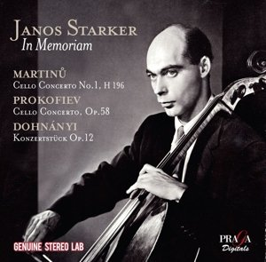 CD : János Starker - Janos Starker In Memoriam (CD)