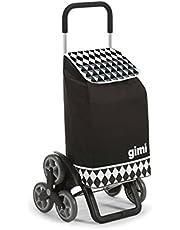 Gimi Tris Optical boodschappentrolley zwart