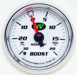 Auto Meter 7307 2-1/16IN NV/S BOOST/VAC