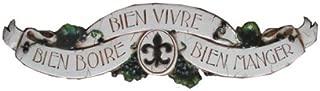 product image for Piazza Pisano French Wall Decor Door Topper Bien Boire Bien Vivre Bien Manger