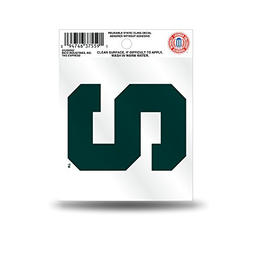 michigan-state-spartans-official-ncaa-35-inch-small-static-cling-window-car-decal-by-rico-industries