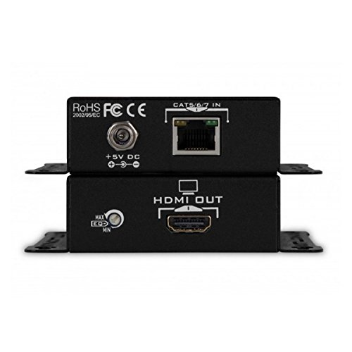 Atlona AT-HD4-SI40SR   HDMI Extender over CAT5/6 up to 130 feet (Cat5/6 Kvm Kit Extender)