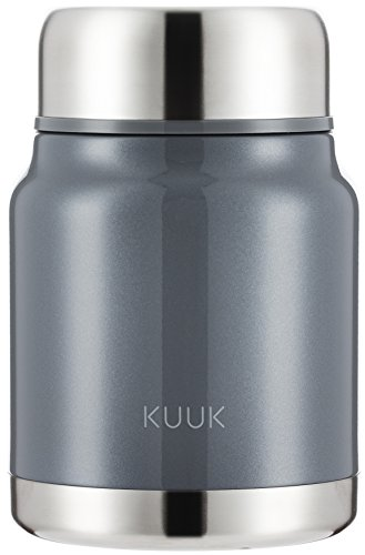 Kuuk Lunch / Soup Container thermos Flask To Go - 17oz (Food Large Mug)