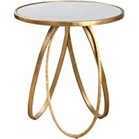 Uttermost 24410 Montrez Accent Table, Gold