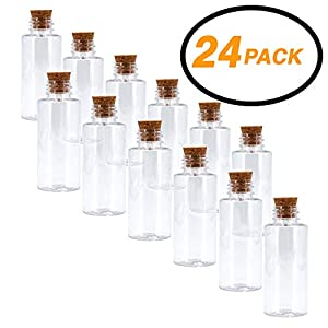 41I5-FhdyUL._SS300_ Large & Small Glass Bottles With Cork Toppers