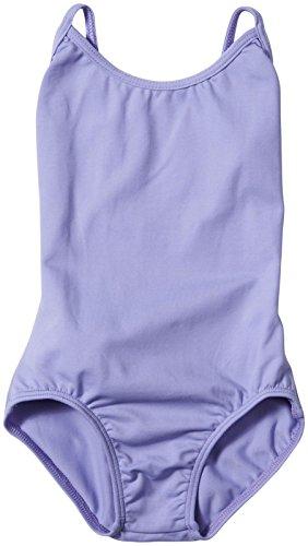 Bal Togs Youth Basic Silkteck Camisole Leotard, Lavender - I