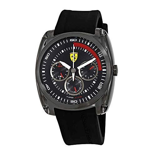 Ferrari Tipo J-46 Black Dial Men's Watch 830320